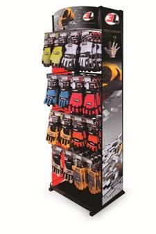 Fabricante de expositores metalicos para guantes