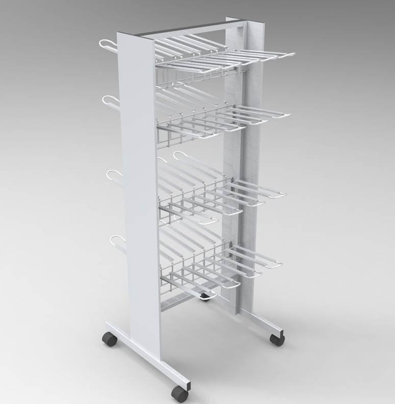 Fabricante de mobiliario comercial metálico