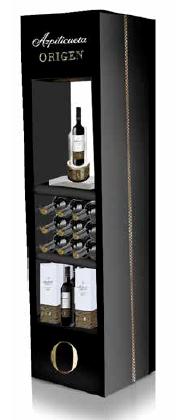 La mejor opción de expositores para vinos