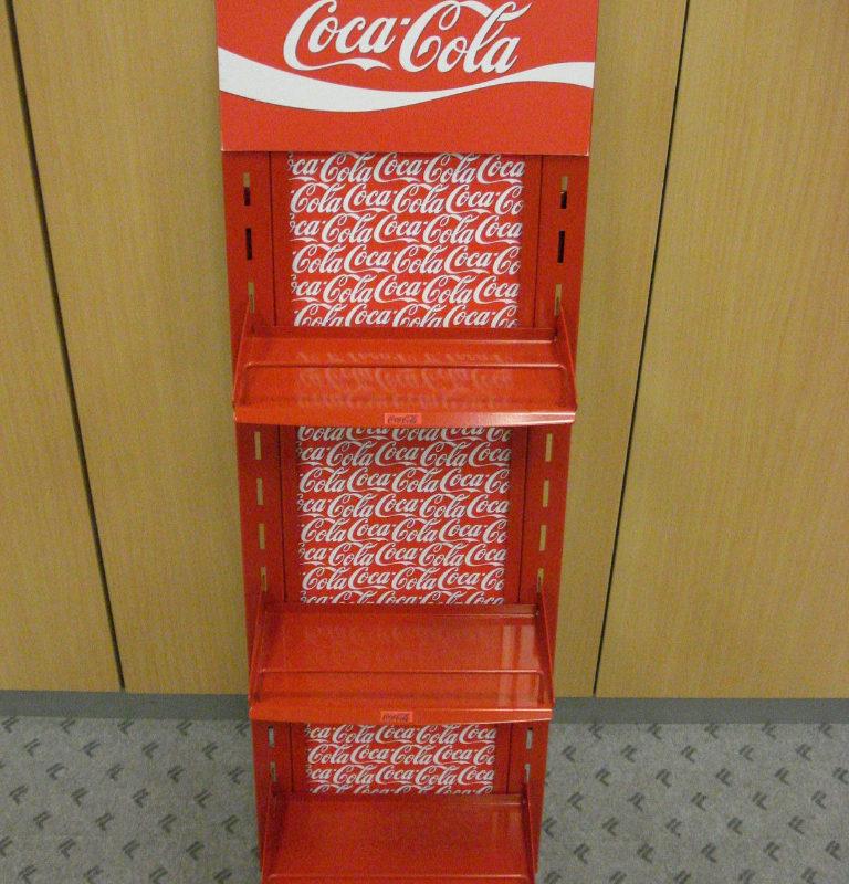 Mejor expositor metalico para CocaCola