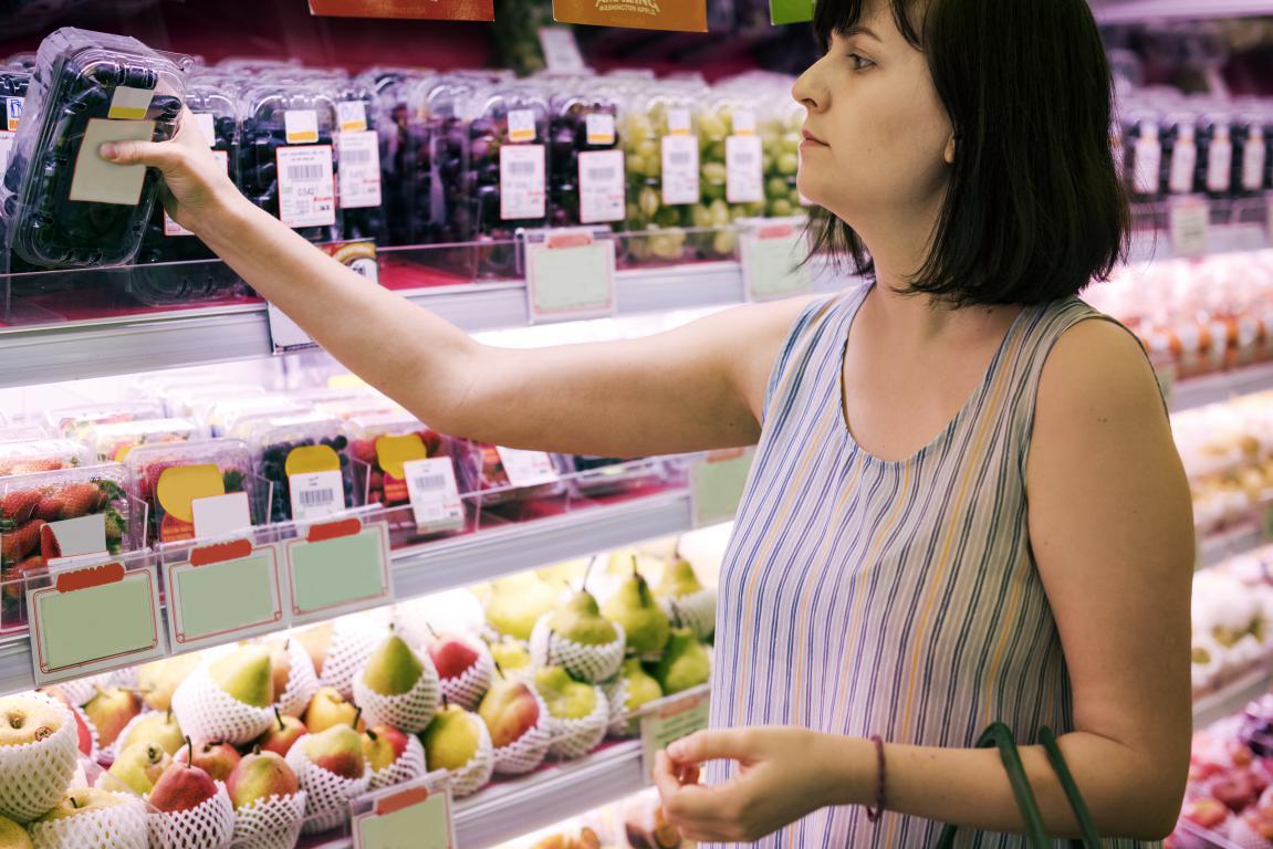 Expositor para tienda de alimentación